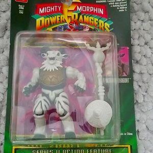 Power Rangers Head Butting Robogoat action figure